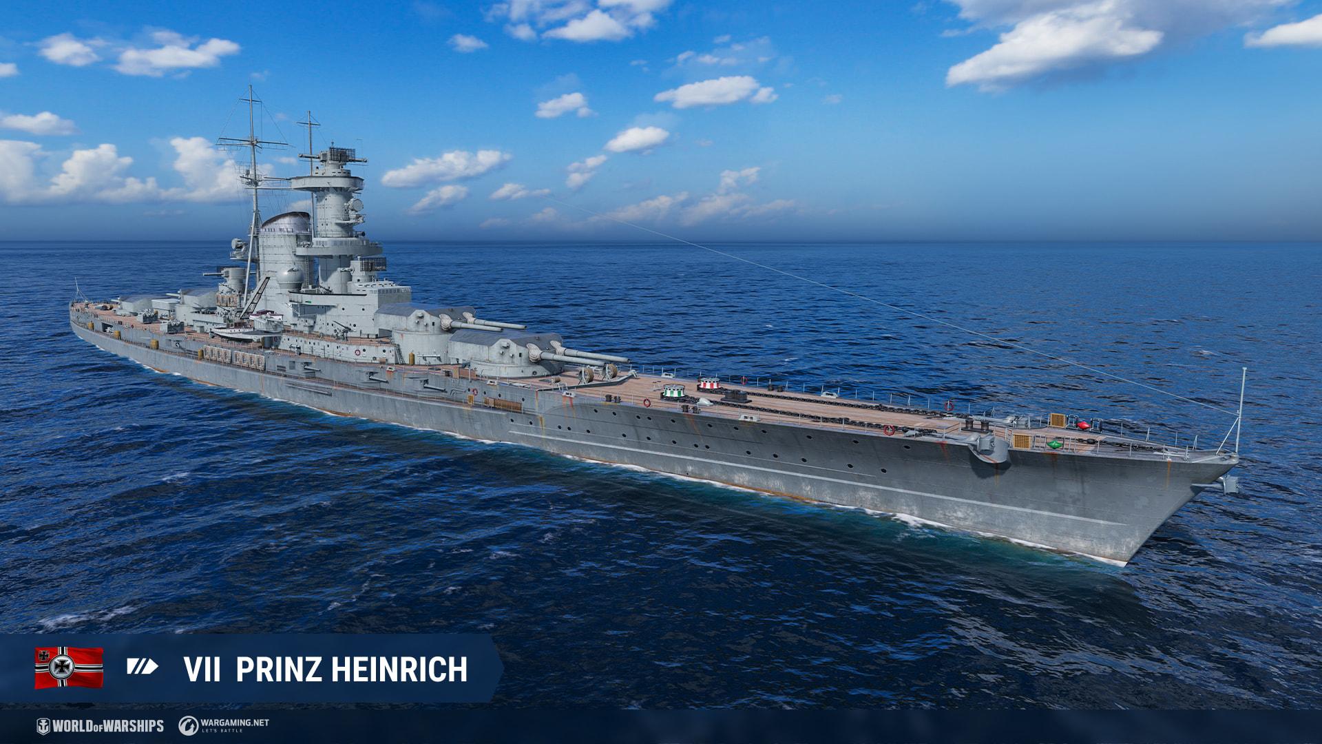 SMS Prinz Heinrich (в Лесте)